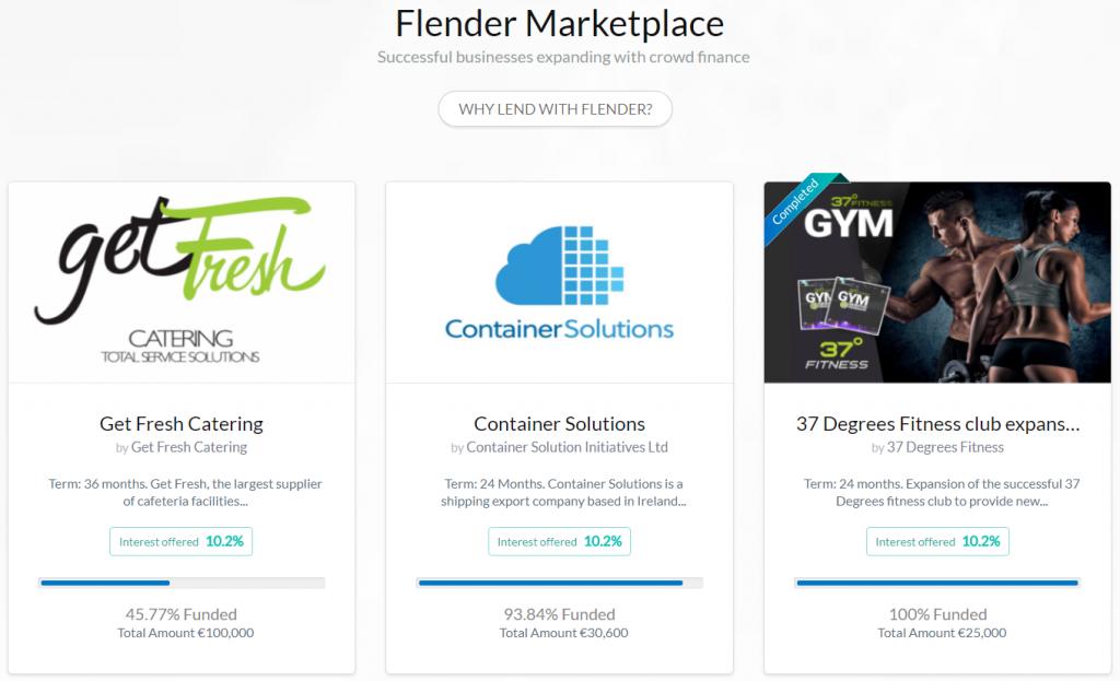 marketplace flender.ie