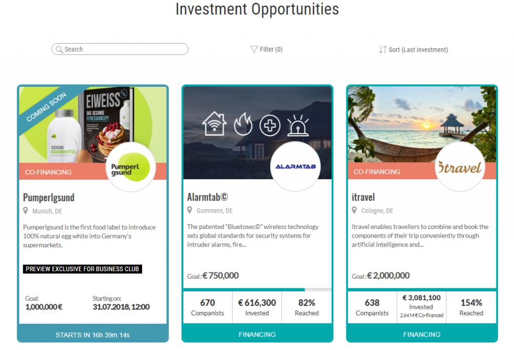 invertir en startups con companisto