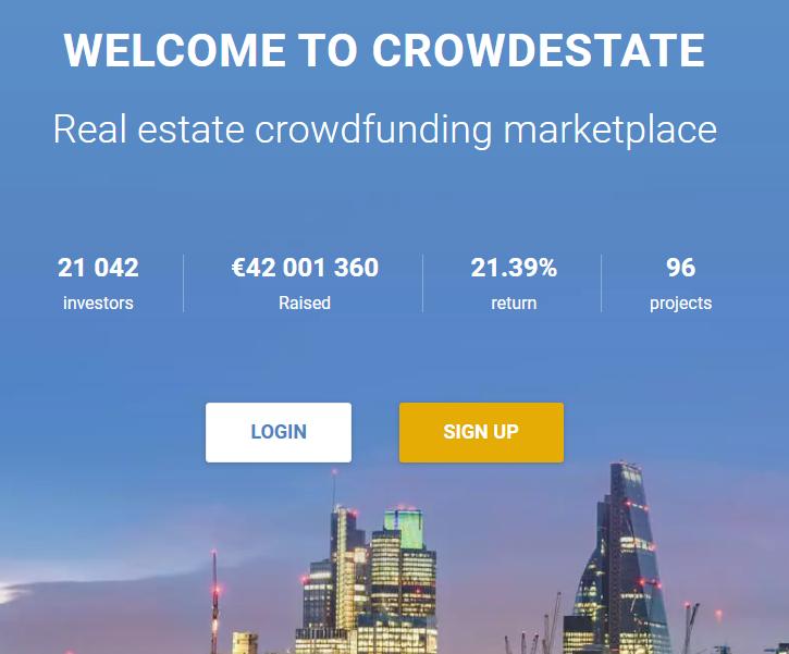 crowdestate p2p crowdfunding inmobiliario