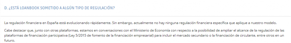 loanbook licencia cnmv