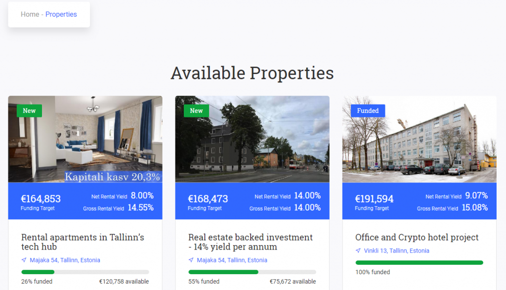reinvest 24 crowdfunding real estate