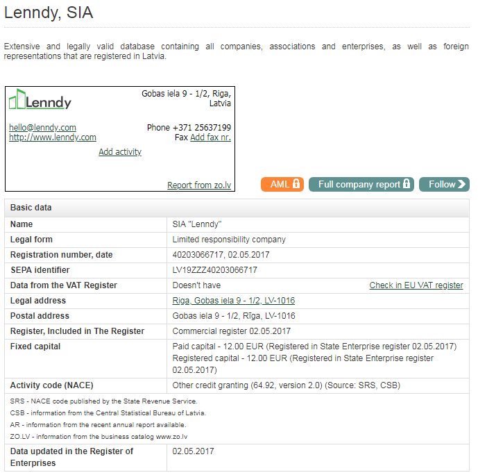 lenndy scam or safe