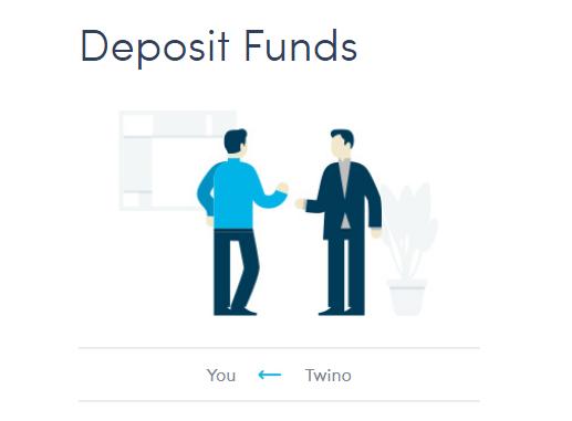 twino deposits