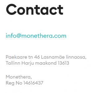 monethera email
