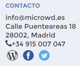 microwd telefono madrid