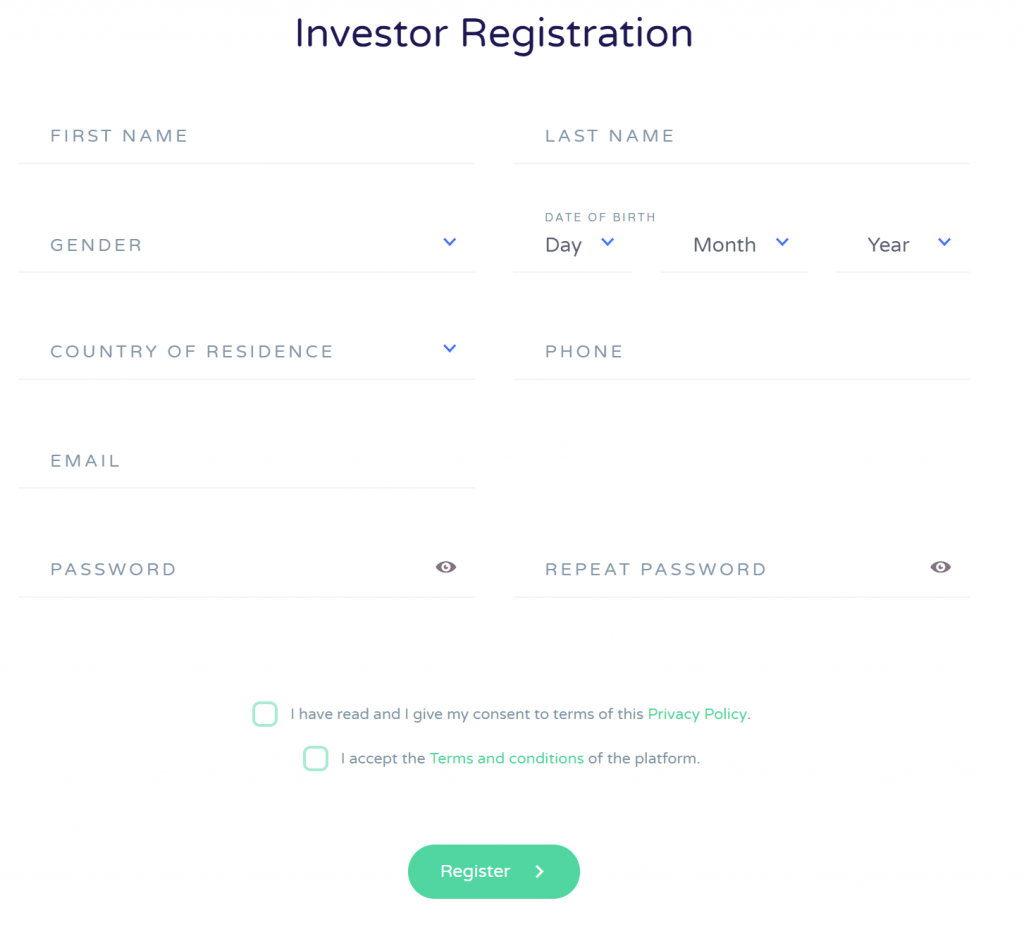 wisefund sign up