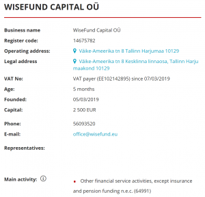 wisefund is safe