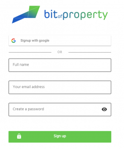 registro en bitofproperty