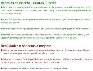 Brickfy estadisticas